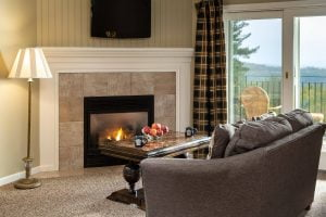Orleans Suite Fireplace