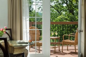 french manor outdoor porch