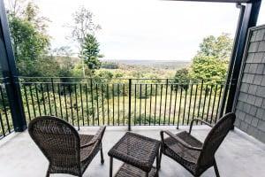 nice suite outdoor porch
