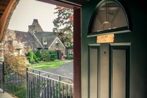 door to nice suite