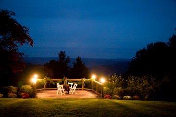 outdoor dinner spot