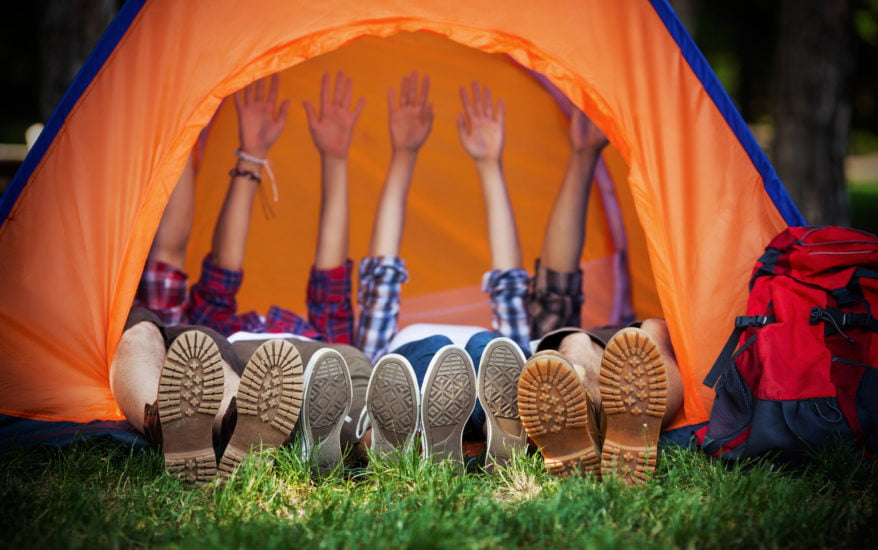 Bushkill Falls Camping