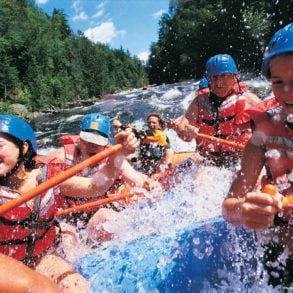 White Water Rafting is one of the best things to do in Eastern PA!