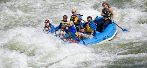 Poconos whitewater rafting