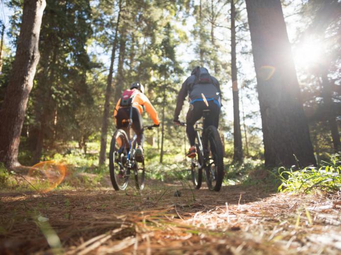 mountain biking trails in the Poconos