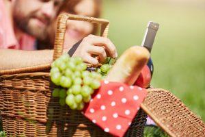 picnic lunch at Big Pocono State Park