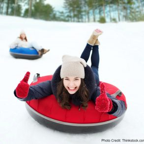 There's nothing like snowtubing in the Poconos in PA!