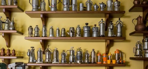 antiques in milford pa- vintage coffee makers