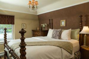brigitte suite interior view of bed