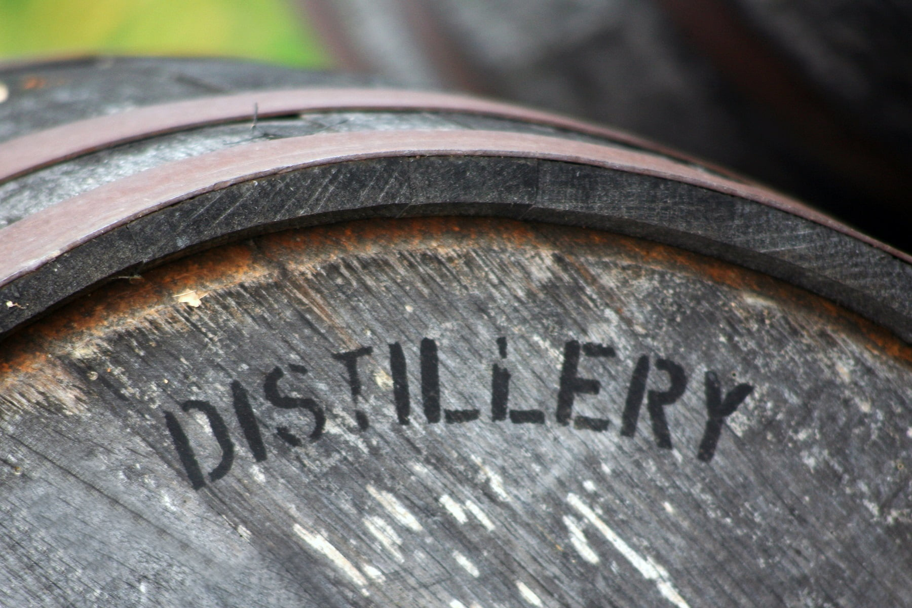 Barrel for aging whiskey