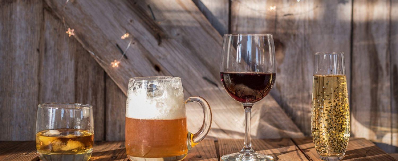 Pocono beverage trail Beer wine champagne and scotch