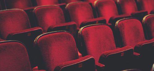 Theatre seats at Shawnee Playhouse