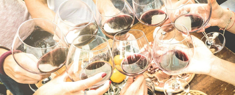 wine tasting at Brook Hollow Winery