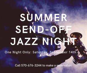 Summer Send-Off Jazz Night