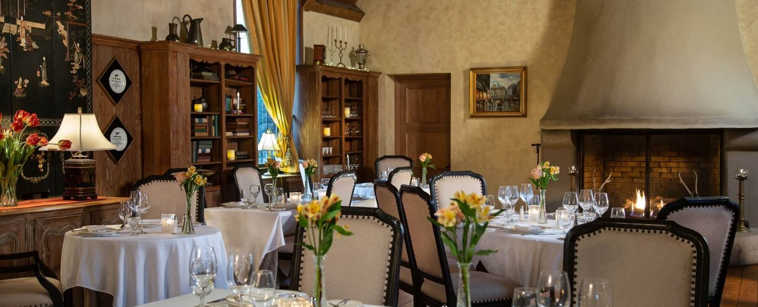 the french manor dining room