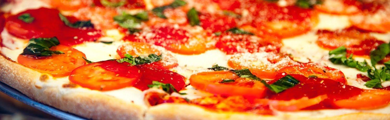 Delicious fresh made italian pizza