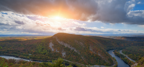 Instagrammable Locations in the Poconos - delaware water gap