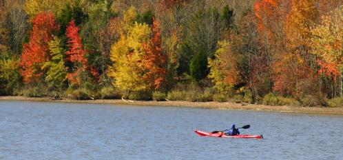 kayaking in the poconos